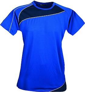 SCHWARZWOLF RILA WOMEN funkční tričko, modré L - reklamní trička