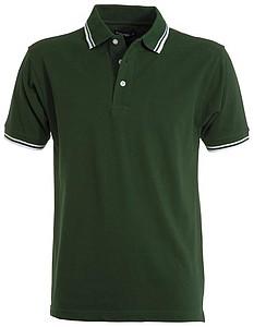 Polokošile PAYPER SKIPPER zelená, bílá XXXL - reklamní bundy