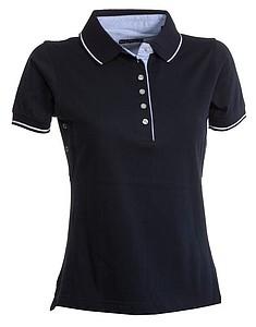 Polokošile PAYPER LEEDS námořní modrá/bílá XL - reklamní čepice