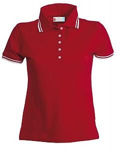 Polokošile PAYPER SKIPPER LADY červená, bílá L