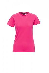 Funkční tričko PAYPER RUNNER LADY reflexní růžová S