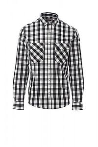 Pánská košile PAYPER LABRADOR, bílá/černá, 3XL