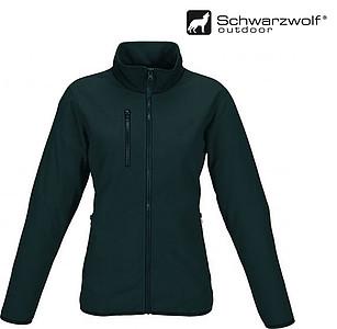 SCHWARZWOLF BESILA dámská fleece mikina, černá M - bez reflexního proužku