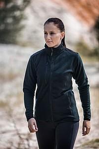 SCHWARZWOLF BESILA dámská fleece mikina - bez reflexního proužku, černá M