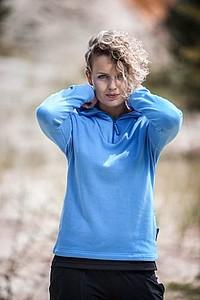 SCHWARZWOLF COMFORT WOMEN dámská mikina, modrá XL