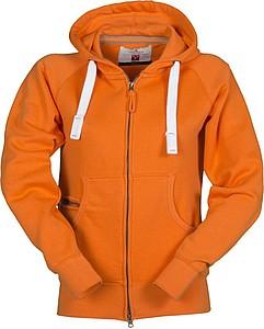 Mikina PAYPER DALLAS+ LADY oranžová M - reklamní trička