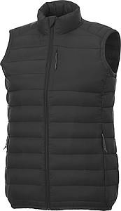 Pánská zateplená elevate vesta Pallas, černá L - reklamní vesty