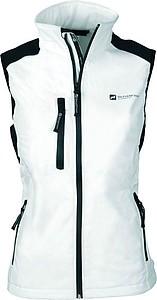 SCHWARZWOLF BELIDIS vesta dámská, logo vpředu, krémová XL - reklamní trička
