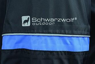 SCHWARZWOLF BONETE pánská podzimní bunda, černá M
