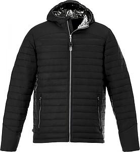 Pánská bunda Silverton insulated, černá L - reklamní bundy