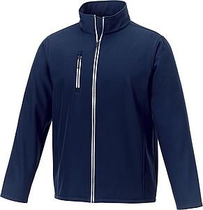 Pánská softshellová bunda elevate Orion, námořní modrá L