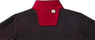 Pánská softshellová bunda elevate Orion, tmavě červená XL