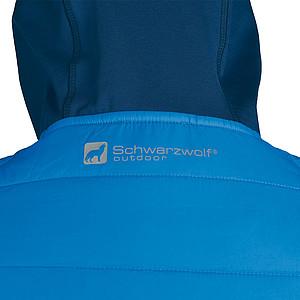 SCHWARZWOLF MODOC bunda dámská modrá,modrý zip,M