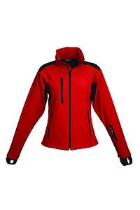 SCHWARZWOLF BREVA bunda dámská, logo vpředu, červená L - reklamní bundy