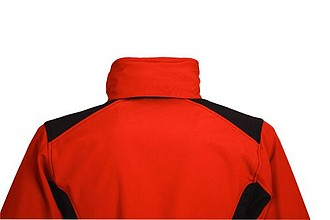 SCHWARZWOLF BREVA bunda dámská, logo vpředu, červená L