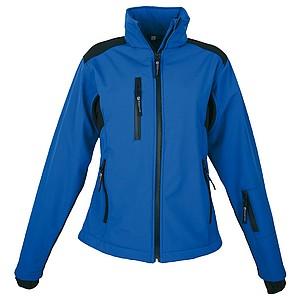 SCHWARZWOLF BREVA bunda dámská, logo vzadu, modrá XL - reklamní bundy