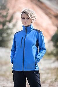 SCHWARZWOLF BREVA bunda dámská, logo vzadu, modrá XL