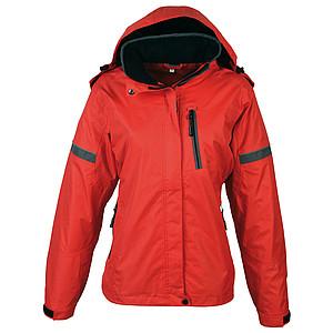 SCHWARZWOLF BONETE dámská podzimní bunda, červená S