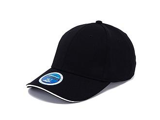 PALOK Funkční sportovní čepice z polyesteru, černá - reklamní čepice