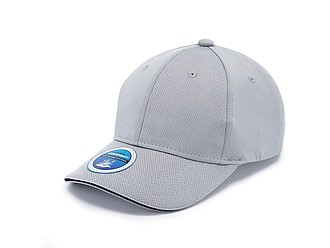 PALOK Funkční sportovní čepice z polyesteru, šedá - reklamní čepice