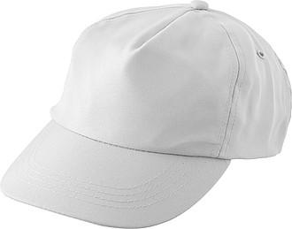 Pětipanelová kšiltovka z RPET, bílá