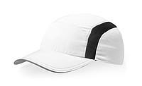 IVANOV Běžecká polyesterová čepice, bílá