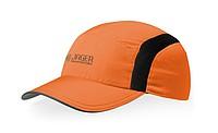 IVANOV Běžecká polyesterová čepice, oranžová