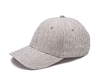 GARETA Sportovní šestipanelová čepice s vyztuženým čelem, šedá - reklamní čepice