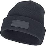 Pětipanelová bavlněná čepice Nestor s kontrastní linkou, tmavě modrá - reklamní čepice