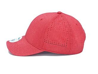 SAWIRA Polyesterová kšiltovka s perforací pro odvětrávání, červená