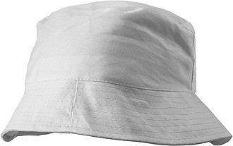 CAPRIO plážový klobouk, bílý - reklamní čepice