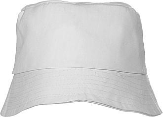 CAPRIO plážový klobouk, bílý