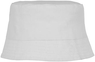 Dětský klobouček, bílá