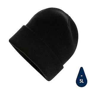Beanie čepice Impact z Polylana® AWARE™, černá