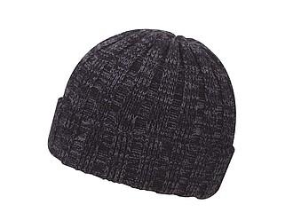 TIZANA Pánská zimní čepice v univerzální velikosti, černá
