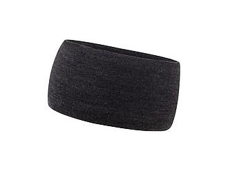 KULDIGA Zimní čelenka s fleecovou podšívkou, černá - reklamní čepice