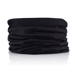 Multifunkční šátek, černá