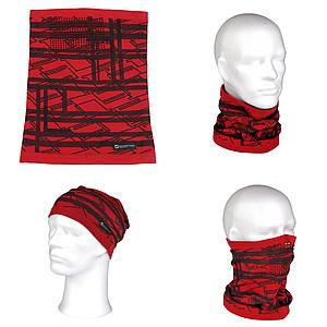 SCHWARZWOLF BUFANDA teplý multifunkční šátek - reklamní čepice