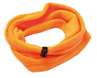 OSLO Mikrofleecový nákrčník, oranžová - reklamní čepice