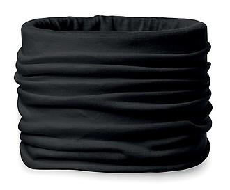 Multifunčkní bandana z mikrovlákna, černá