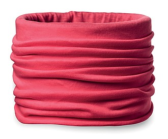 Multifunčkní bandana z mikrovlákna, červená
