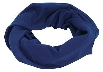 CEMILE Multifunkční šátek, modrý - reklamní čepice