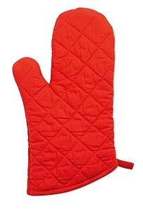 NEOKIT Pogumovaná kuchyňská rukavice, červená