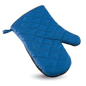 Pogumovaná kuchyňská rukavice, královská modrá