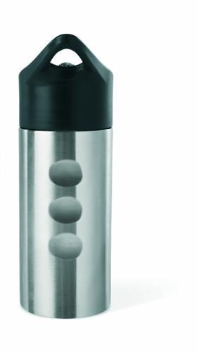 ... stříbrná Nerezová láhev na vodu s brčkem d357dcc59c7