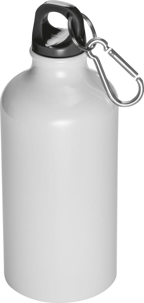 Kovová láhev na pití s krabinou na víčku 81e5c6a0639