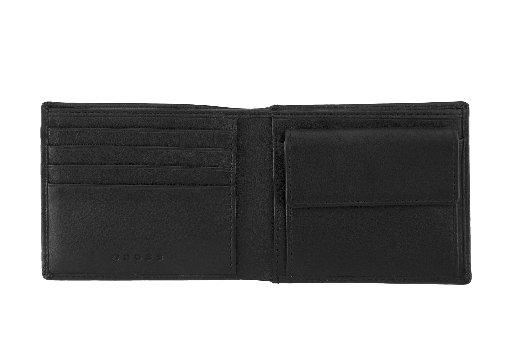 COSTA RICA Dárková sada peněženky a pouzdra na kreditky CROSS - černá kůže  ... ff91e64cf6