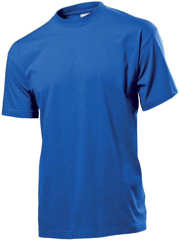 Tričko STEDMAN CLASSIC MEN barva královská modrá S - reklamní trička 365f40c1fb