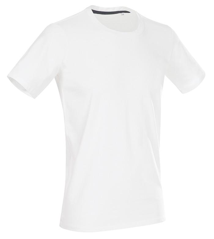 Tričko STEDMAN STARS CLIVE CREW NECK bílá M - reklamní trička 8ebea01206