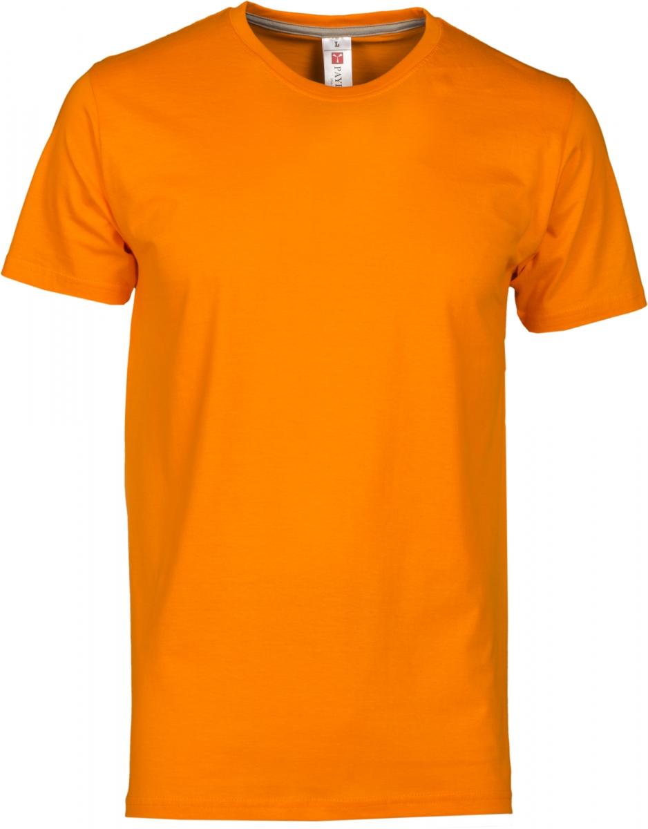 Tričko PAYPER SUNRISE oranžová S - reklamní trička 204e783000